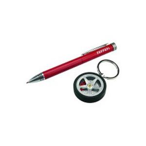 Набор Ferrari: ручка шариковая, брелок