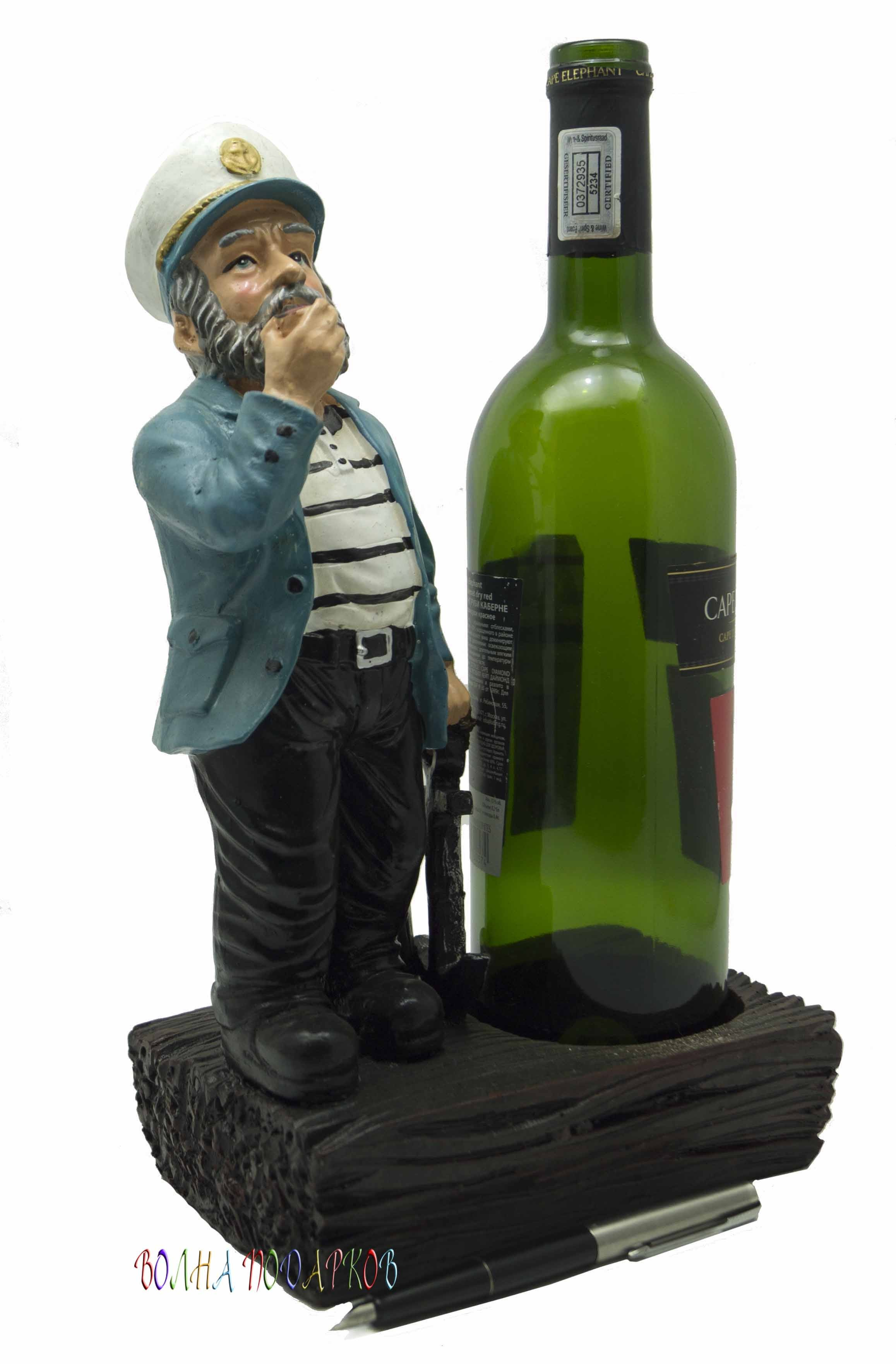 Подставка под бутылку Морской волк