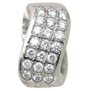 Подвеска с 21-м бриллиантом