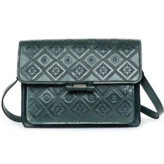 Зеленая женская сумочка «Фантазия»