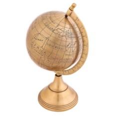 Настольный декоративный глобус из металл диаметром 20 см