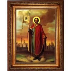 Икона Святого благоверного князя Александр Невский