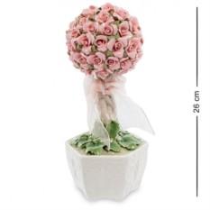 Фарфоровая музыкальная композиция Букет роз