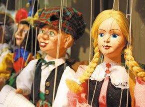 Подарочный сертификат Кукольный театр для двоих