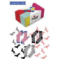 Дизайнерские носки Нашествие такс