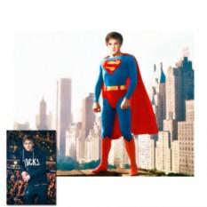 Портрет в стиле супергероя