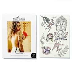 Татуировка переводная Sasha Tattooing Mystery, лист А4