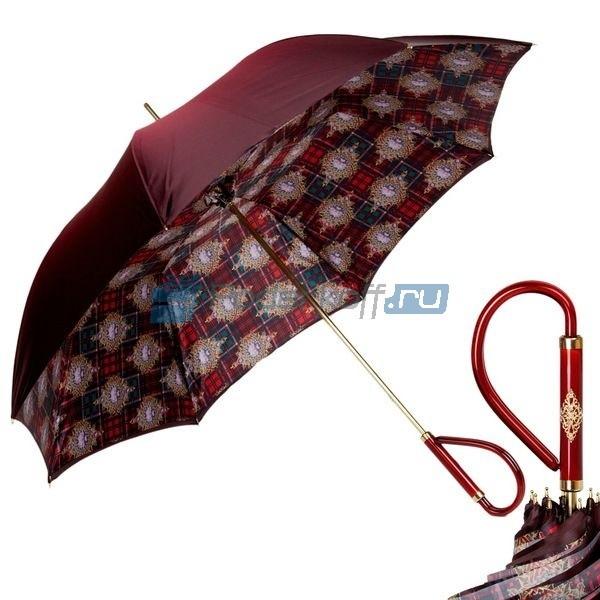 Зонт-трость Pasotti Rosso Posh Plastica