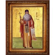 Икона на холсте Максим Грек Преподобный