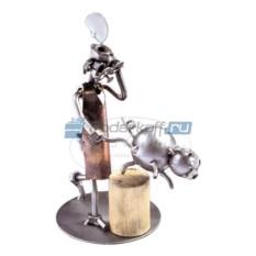 Статуэтка из металла Мясник
