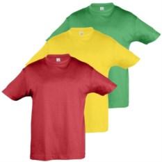Комплект из 3-х детских футболок в сумке Sols