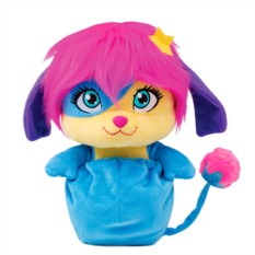 Мягкая голубая игрушка Малыши-прыгуши