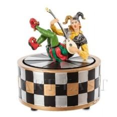 Музыкальная статуэтка Шут