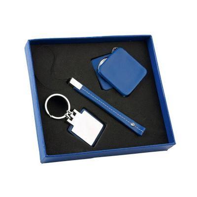 Набор: зеркало, ремешок для телефона, брелок