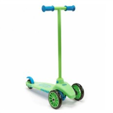Зелено-голубой самокат LittleTikes