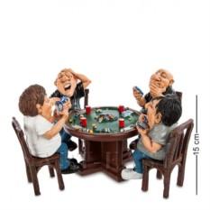 Статуэтка-миниатюра ''Азартная игра''