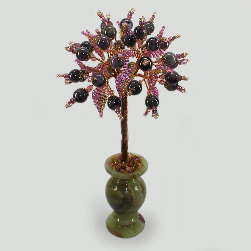 Дерево из аметиста Аметистовый цвет