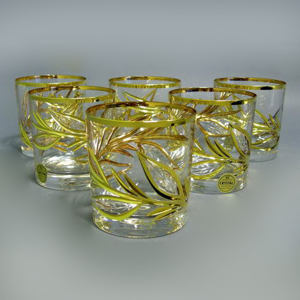 Набор стаканов «Золотая ветка»