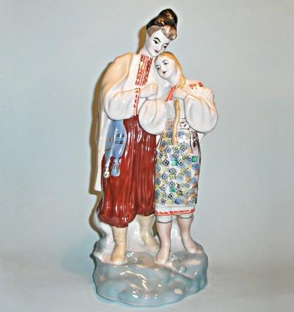 Винтажная статуэтка Майская ночь