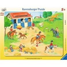 Пазл Выходные на конюшне от Ravensburger