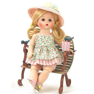 Кукла  «В полдень на скамейке»