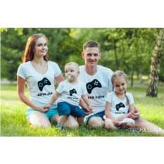 Семейные футболки «Игроки»
