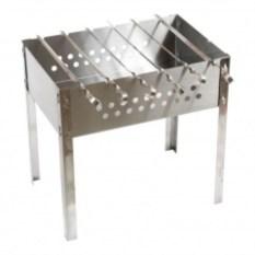 Мангал стандарт+6 шампуров нержавеющая сталь