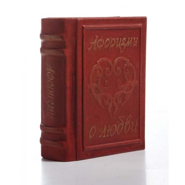 Книга-миниатюра Афоризмы о любви