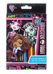 Набор цветных карандашей «Школа монстров»