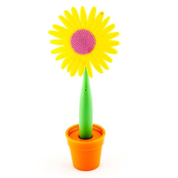 Ручка-цветок на подставке Астра
