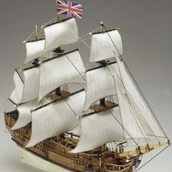 Модель корабля Баунти