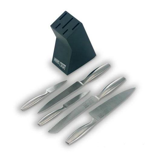 Набор ножей «Хром лайн»
