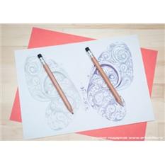 Набор авторучка и карандаш с гравировкой