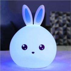 Мягкий силиконовый ночник Кролик
