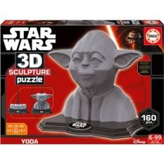 3D пазл Educa Звездные войны. Yoda