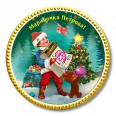 Шоколадная медаль Календарь