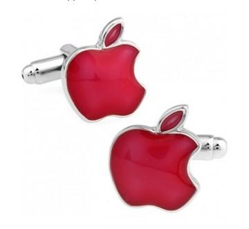Красные запонки Apple