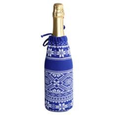 Чехол для шампанского «Скандик» (цвет — синий)