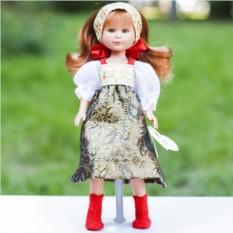Кукла Селия в русском наряде