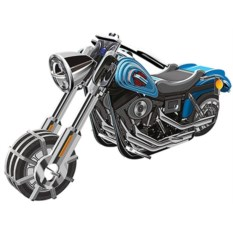 Инерционный 3D-пазл с мотором IQ Мотоцикл Wide G