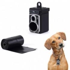 Черная подвеска-сейф для ошейника Rolldog