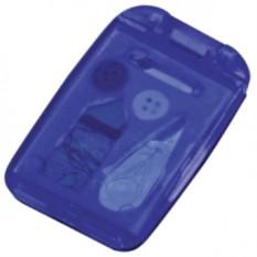 Швейный набор с зеркалом (цвет — синий)