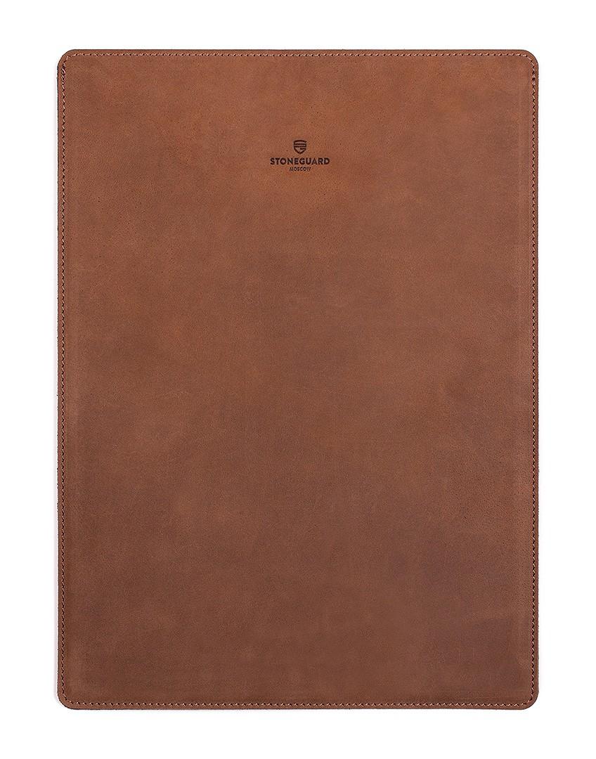 Кожаный чехол для MacBook Pro 13 Retina (Rust)