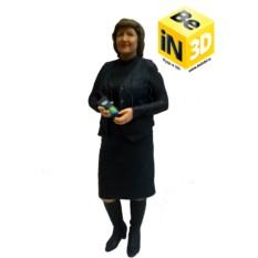 3D фигурка бабушке - миниатюрная копия