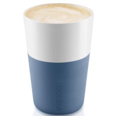 Голубой набор чашек Latte