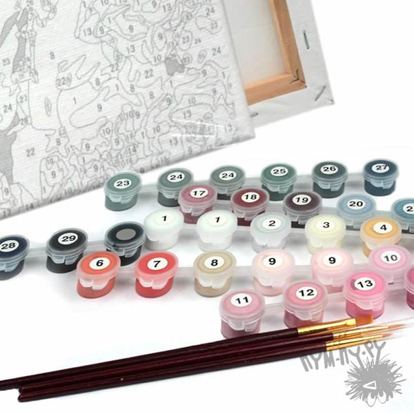 Набор для рисования по номерам Морская композиция