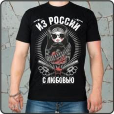 Мужская футболка Матрешка, russian pride