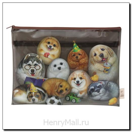 Косметичка «Собачки Генри»