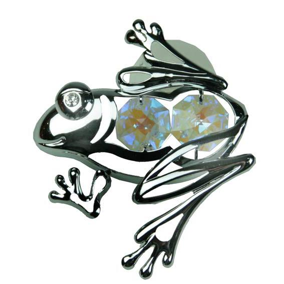 Фигурка декоративная «Лягушка на присоске»
