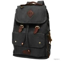 Черный рюкзак PolarTravel